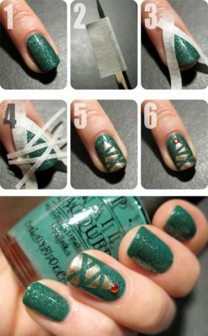 christmas nail art 05