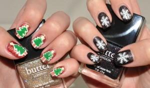 christmas nail art 07