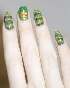 christmas nail art 08