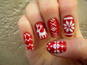christmas nail art 12