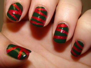 christmas nail art 14